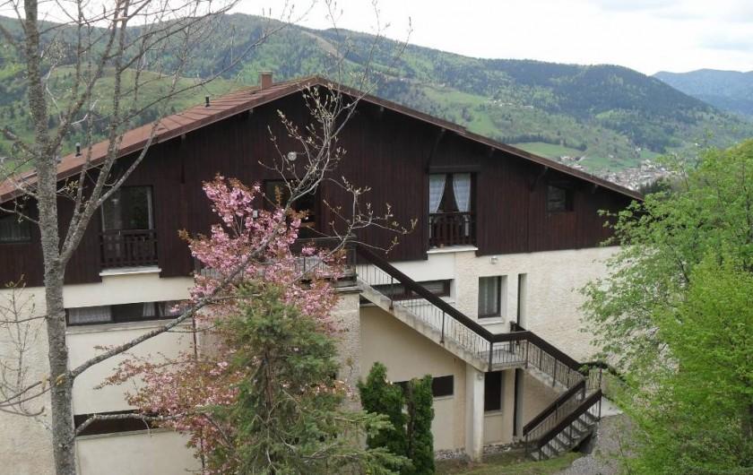 Location de vacances - Appartement à Bussang - Chalet de la location