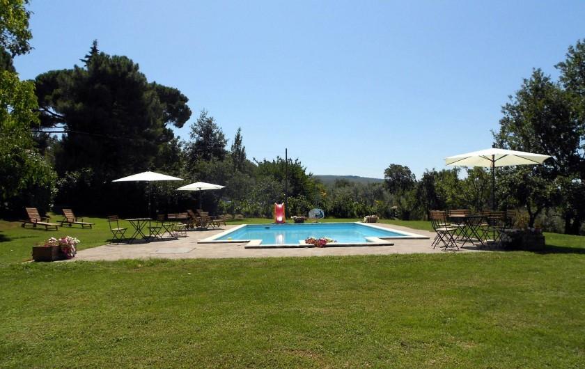 Location de vacances - Gîte à Viterbo - Piscine