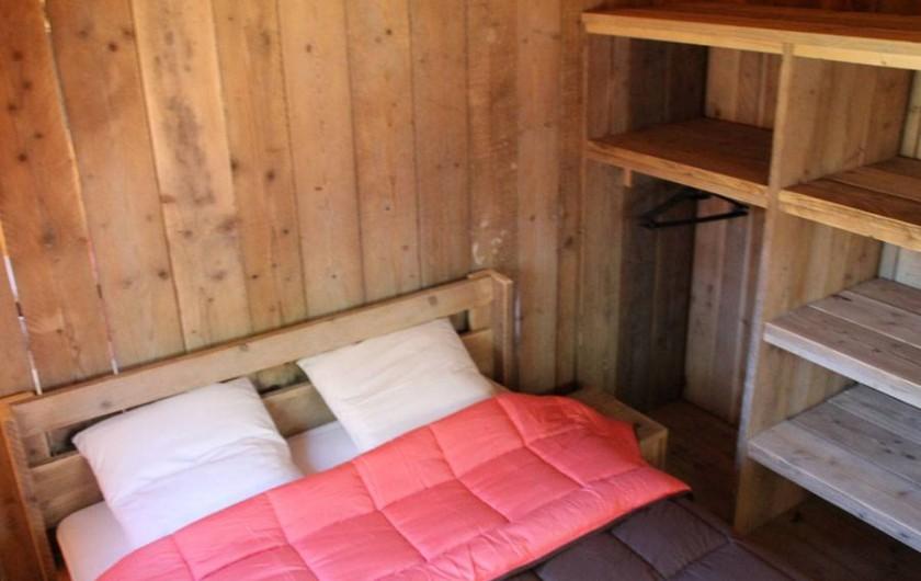 Location de vacances - Camping à Semussac - Tente LODGE