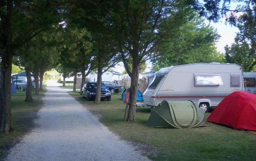 Location de vacances - Camping à Semussac