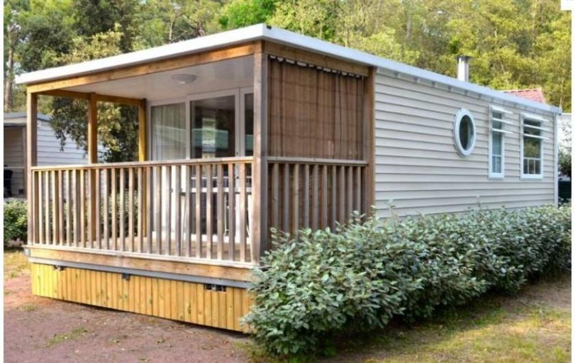 Location de vacances - Camping à Longeville-sur-Mer - Mobile-home Koh-Tao