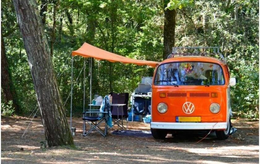 Location de vacances - Camping à Longeville-sur-Mer - Emplacement camping