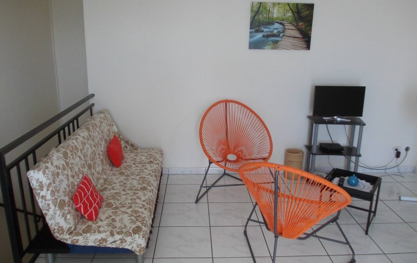 Location de vacances - Appartement à Schoelcher - coin séjour