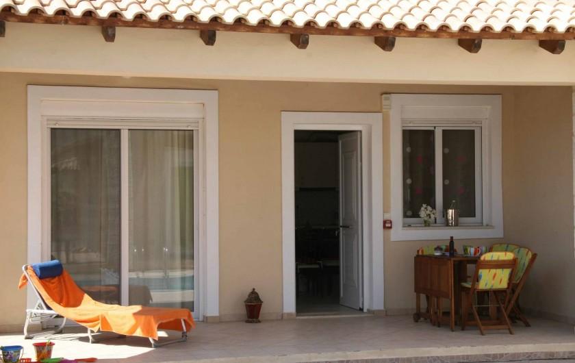 Location de vacances - Maison - Villa à Nopigia - Terrasse