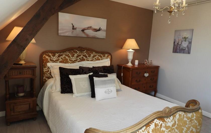 Location de vacances - Château - Manoir à Aubigné-Racan - Chambre Orme
