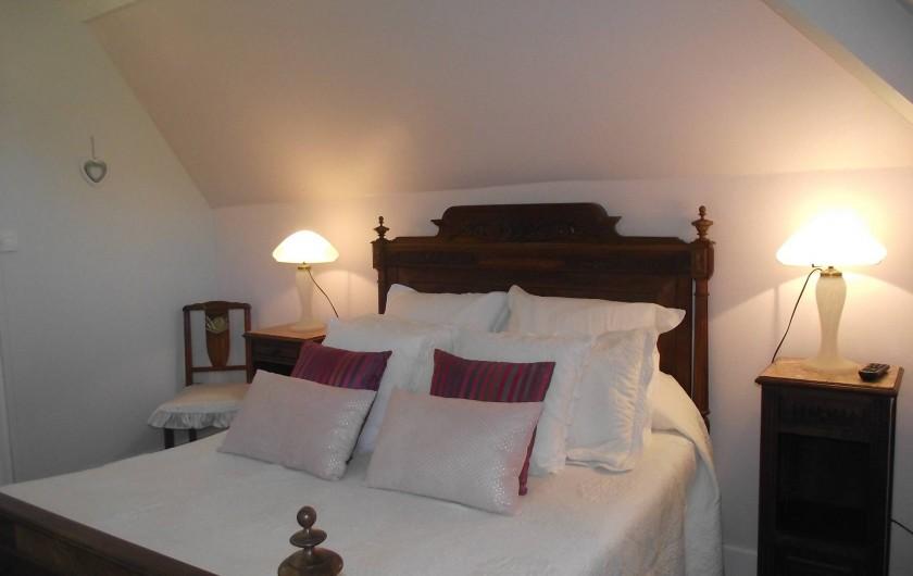 Location de vacances - Château - Manoir à Aubigné-Racan - Chambre Houx