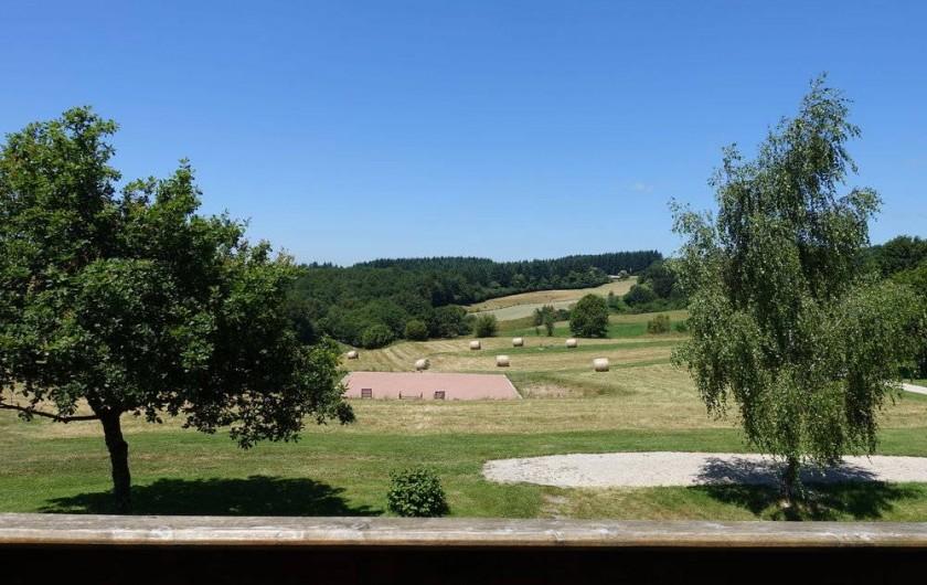 Location de vacances - Gîte à Lacam-d'Ourcet - La vue.