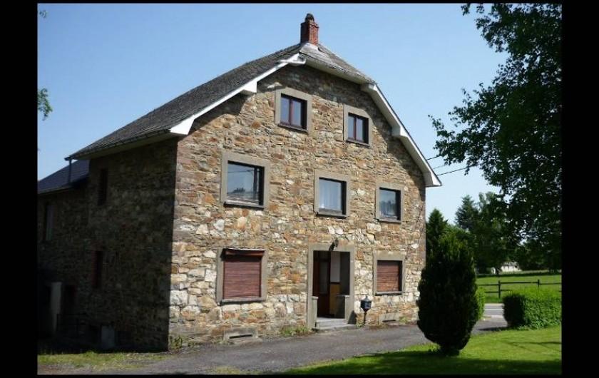 Location de vacances - Maison - Villa à Amblève - Façade