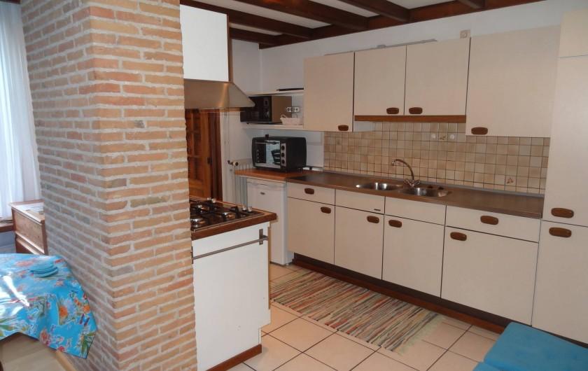 Location de vacances - Maison - Villa à Nieuwvliet - cuisine