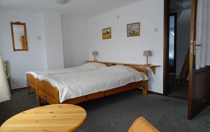 Location de vacances - Maison - Villa à Nieuwvliet - grande chambre