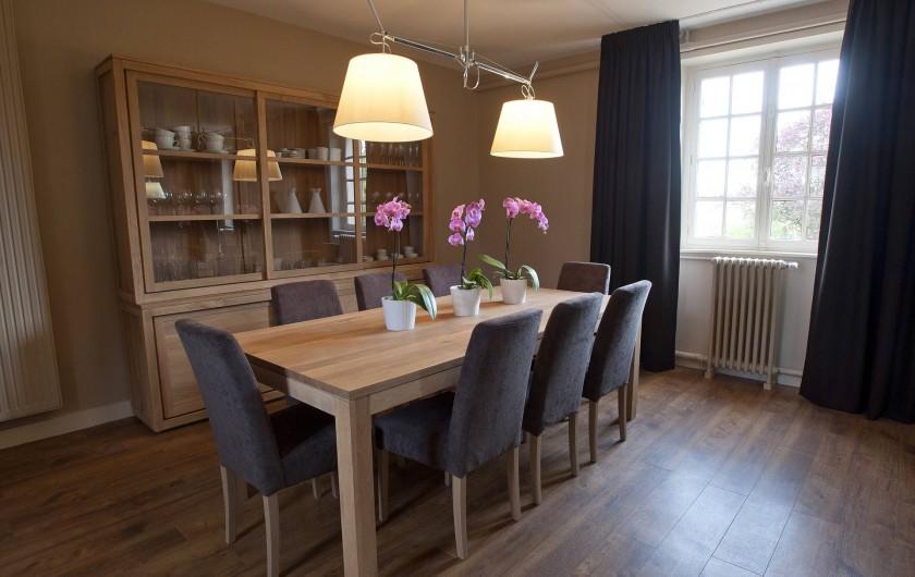 Location de vacances - Gîte à Chambord - Gîte Cerf - salle à manger
