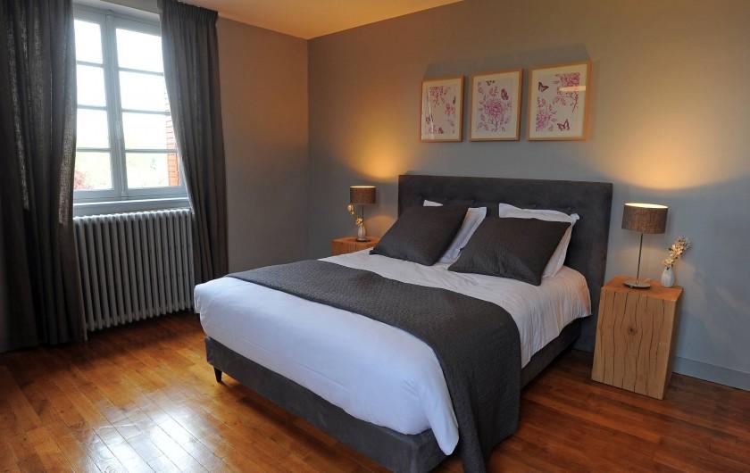 Location de vacances - Gîte à Chambord - Gîte Cerf - chambre avec lit double