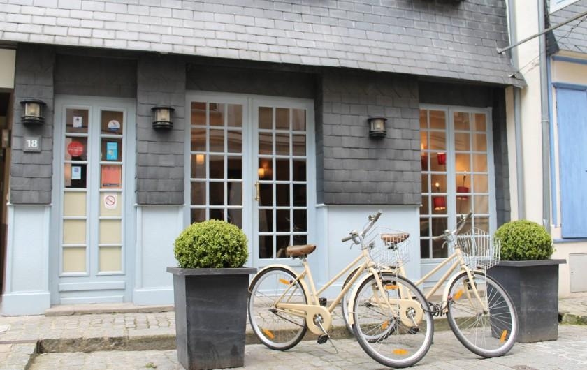 Location de vacances - Hôtel - Auberge à Honfleur - Maison Des Loges