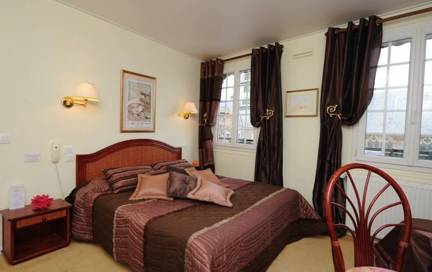 Location de vacances - Hôtel - Auberge à Honfleur - Chambre 20