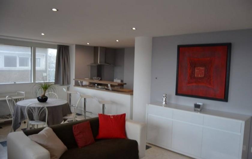 Location de vacances - Appartement à Boulogne-sur-Mer - séjour