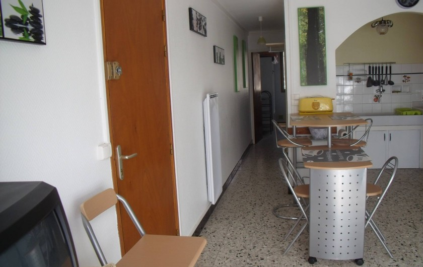 Location de vacances - Appartement à Le Grau d'Agde - couloir