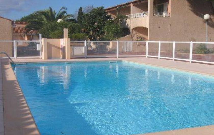 Location de vacances - Villa à Le Lavandou - La piscine de la résidence