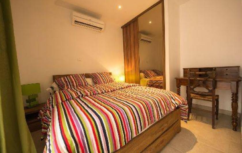 Location de vacances - Maison - Villa à Brue-Auriac - La chambre verte au R de Ch