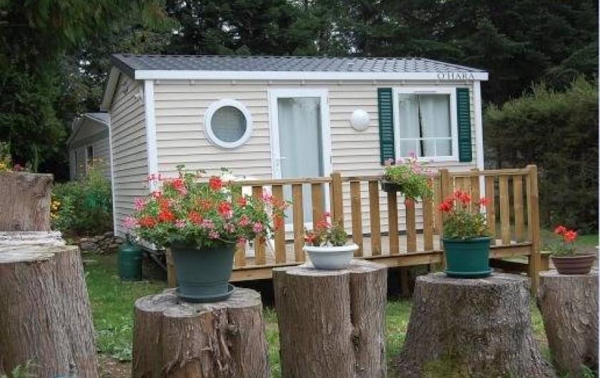 Location de vacances - Camping à La Bourboule - Mobil-home 19 m² 1ch