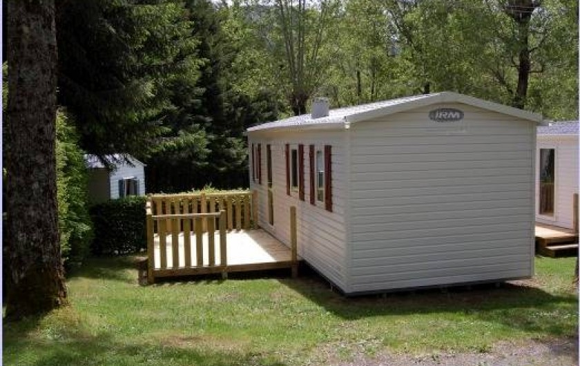 Location de vacances - Camping à La Bourboule - Mobil-home 24 m² 2ch