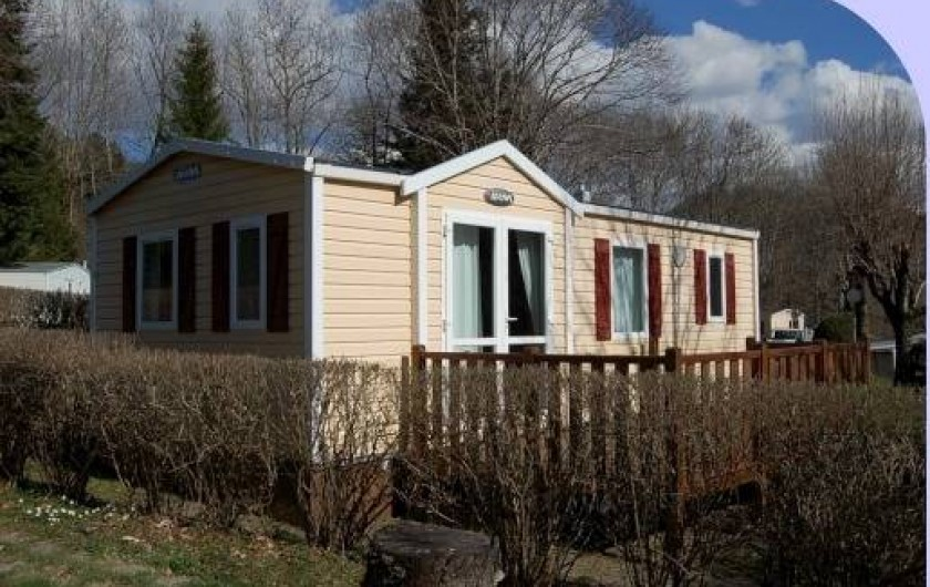 Location de vacances - Camping à La Bourboule - Mobil-home 31 m² 2ch