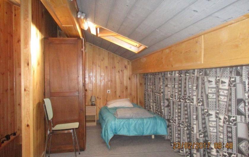 Location de vacances - Maison - Villa à Railleu - CHAMBRE 3 AVEC DEUX LITS EN 90