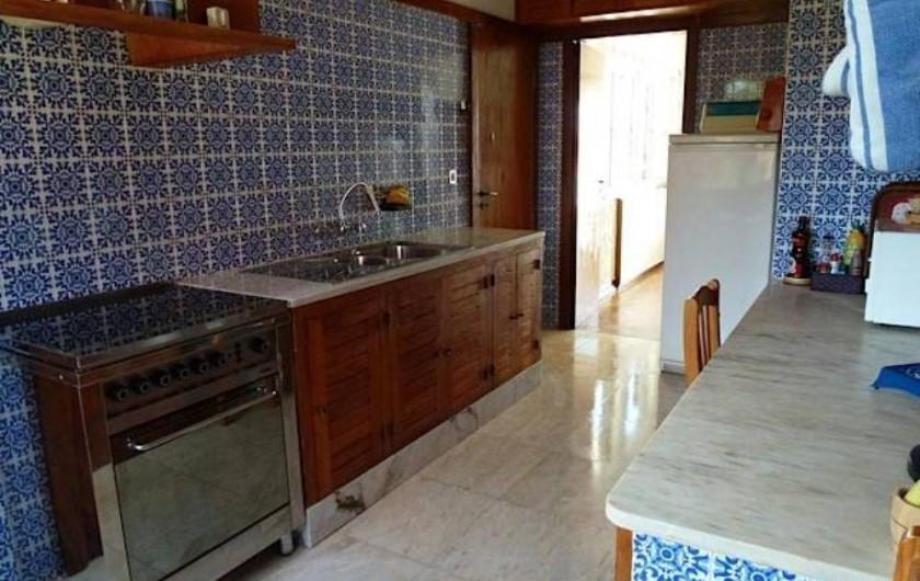 Location de vacances - Villa à Vila Nova de Milfontes - cuisine