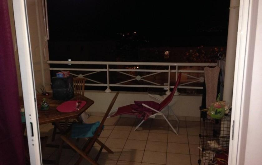 Location de vacances - Appartement à Les Trois-Îlets - Terrasse