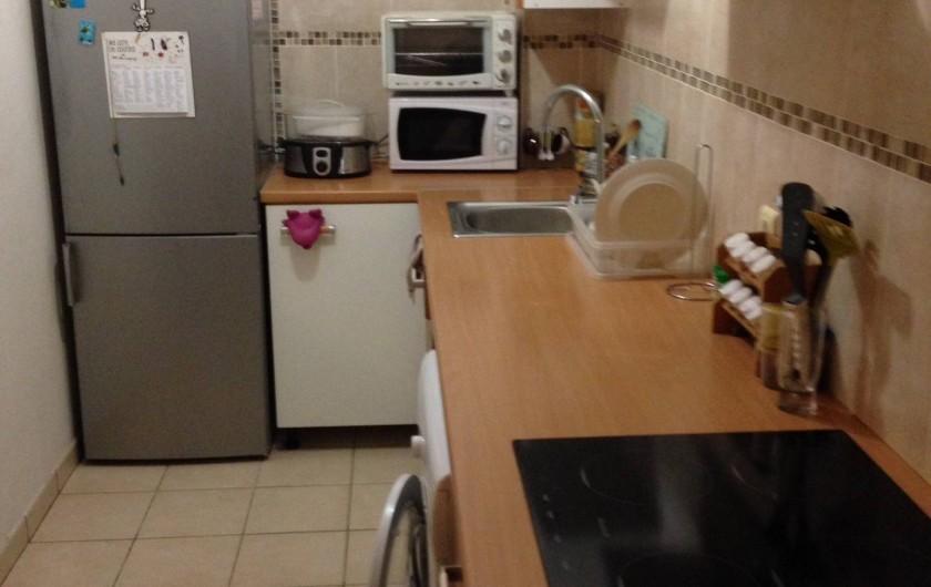 Location de vacances - Appartement à Les Trois-Îlets - Cuisine aménagée