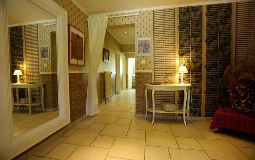 Location de vacances - Chambre d'hôtes à Marlenheim - L'entrée