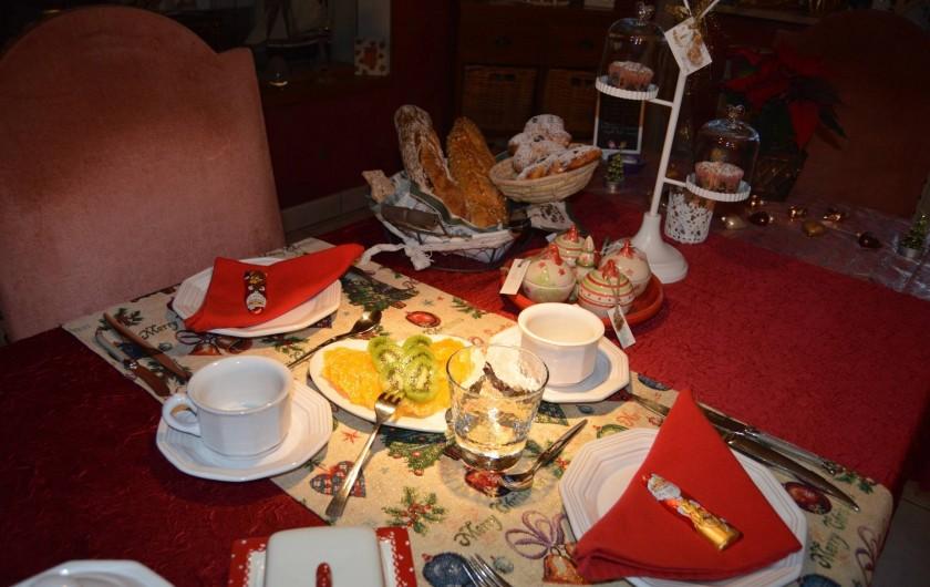 Location de vacances - Chambre d'hôtes à Marlenheim - Petit déjeuner en période de  Noël