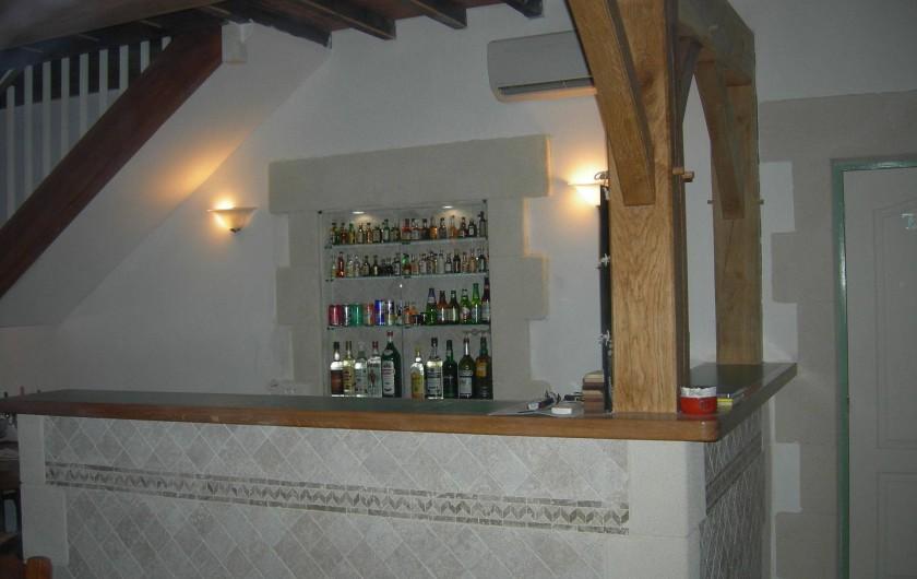 Location de vacances - Chambre d'hôtes à Poudenx - Bar salle à manger