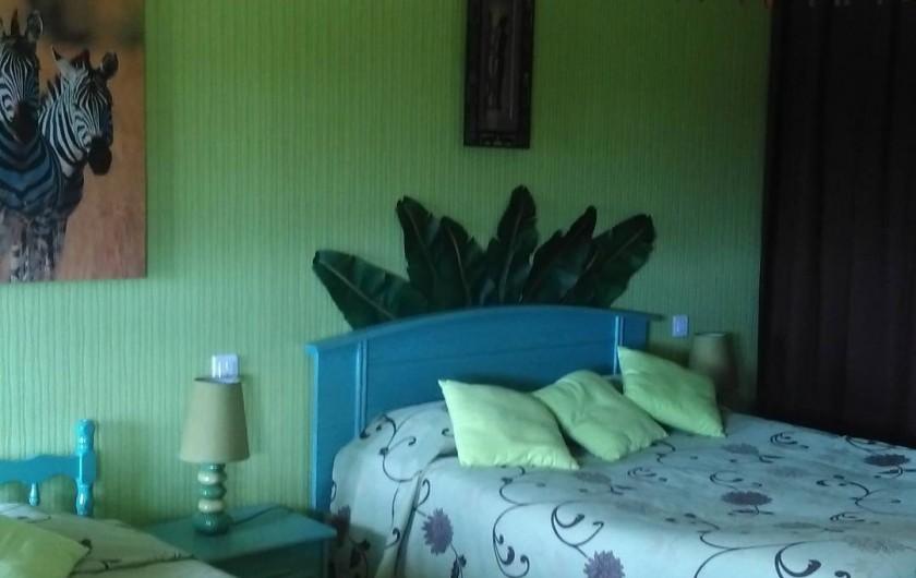 Location de vacances - Chambre d'hôtes à Poudenx - Chambre 1