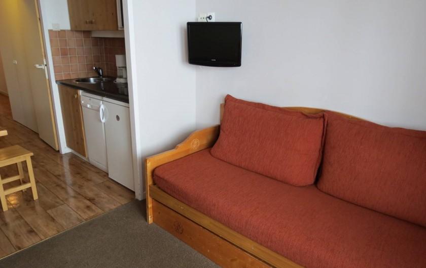 Location de vacances - Appartement à Belle Plagne