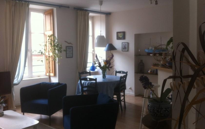 Location de vacances - Appartement à Granville - Le Séjour