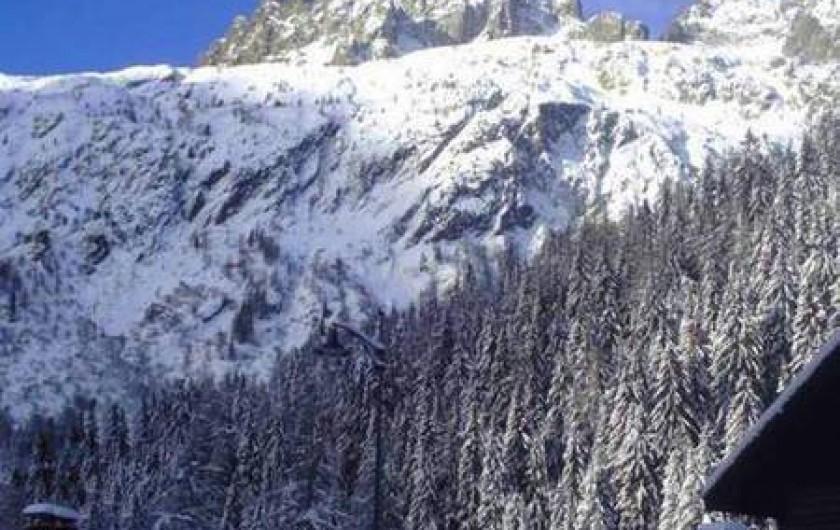 Location de vacances - Appartement à Chamonix-Mont-Blanc - glacier du tour