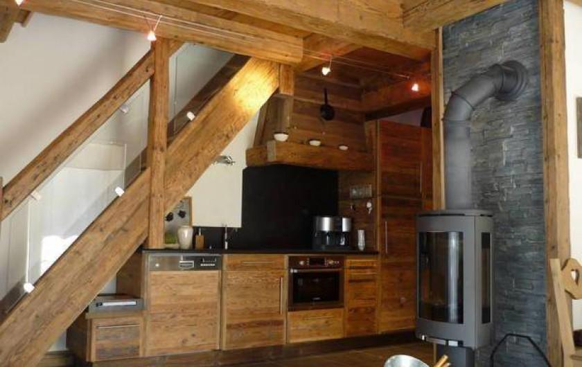 Location de vacances - Appartement à Chamonix-Mont-Blanc - cuisine