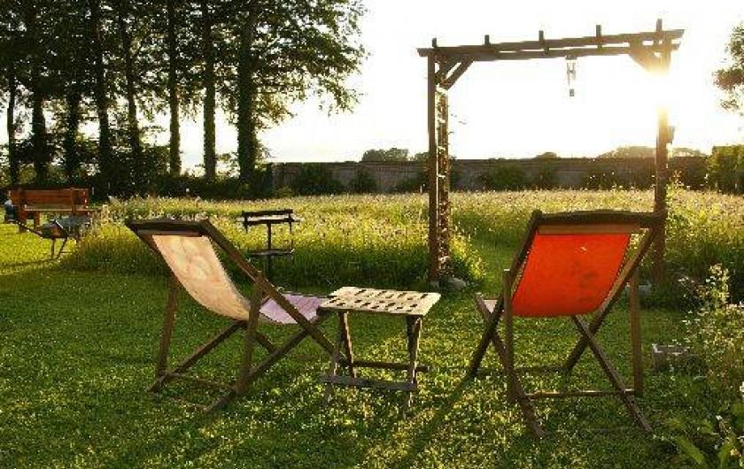 Location de vacances - Roulotte à Valliquerville