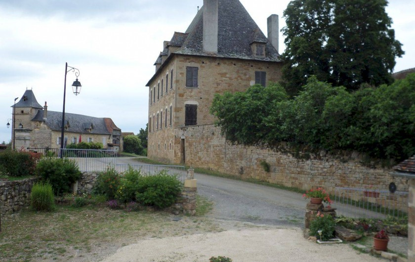 Location de vacances - Maison - Villa à Causse-et-Diège - vue de notre terrasse