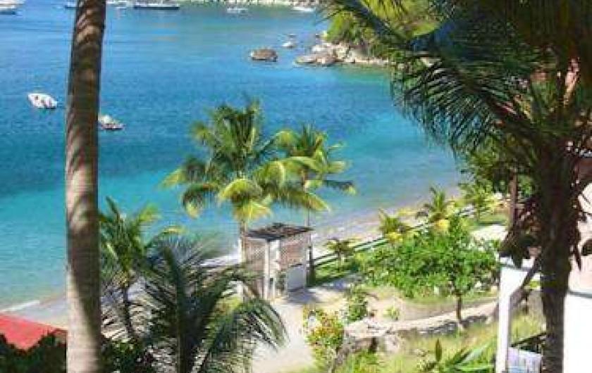 Location de vacances - Hôtel - Auberge à Terre-de-Haut - Plage de votre hotel !!