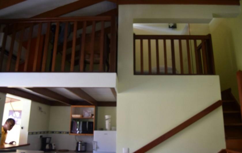 Location de vacances - Appartement à Les Trois-Îlets - Magnifique T1 avec sa mezzanine