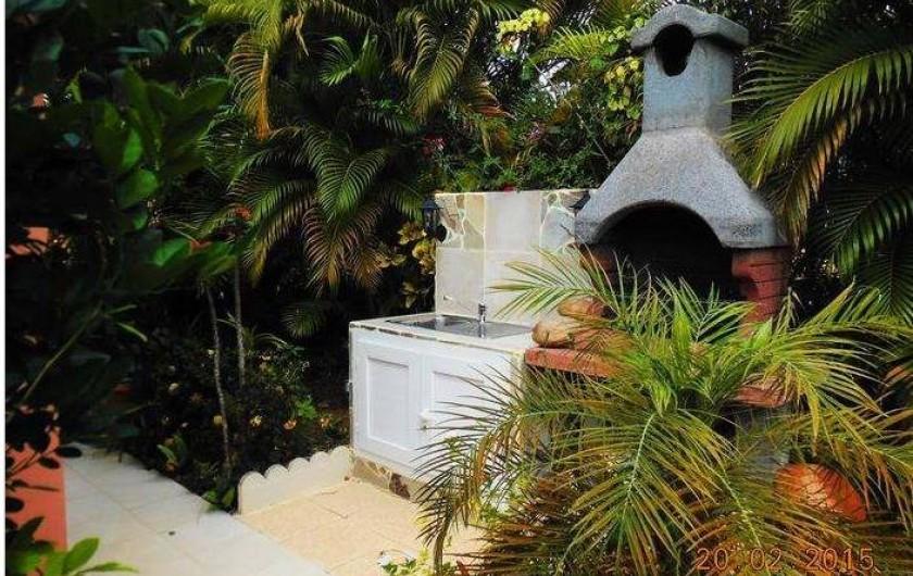 Location de vacances - Villa à Le Marin - espace barbecue