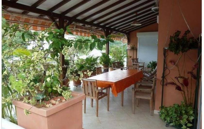 Location de vacances - Villa à Le Marin - vue 2 terrasse 36m2