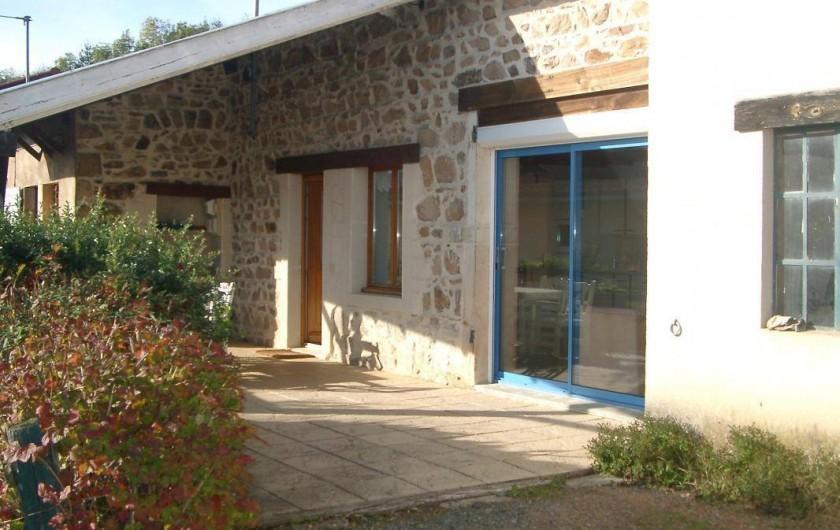 Location de vacances - Gîte à Lantignié