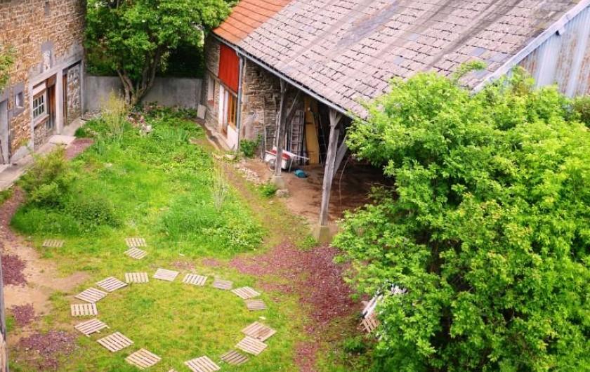 Location de vacances - Gîte à Saint-Rémy-de-Blot - Vue de haut