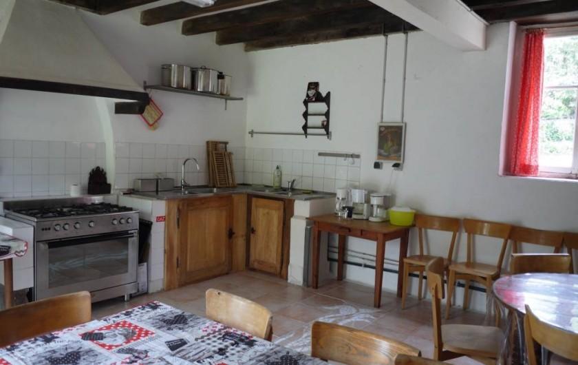 Location de vacances - Gîte à Saint-Rémy-de-Blot - Cuisine