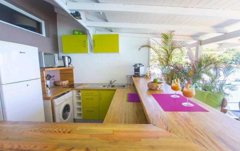 Location de vacances - Appartement à Deshaies - Cuisine
