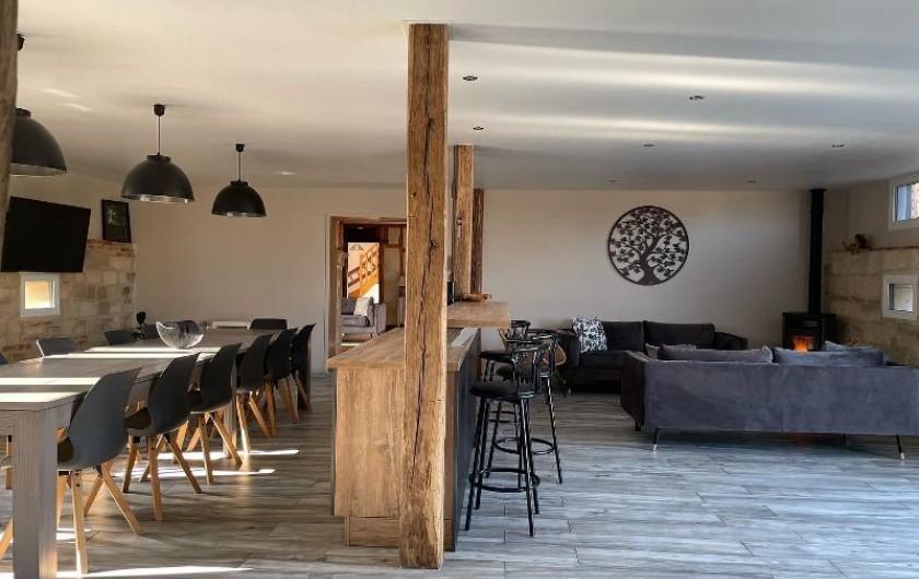 Location de vacances - Villa à Écollemont - Ch 1 r-d-c