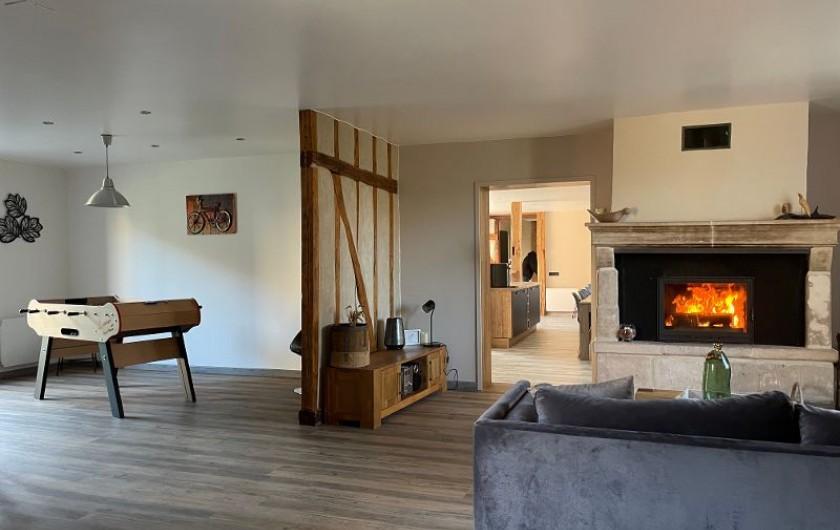 Location de vacances - Villa à Écollemont - Le Grand Charme, ancienne ferme champenoise, entièrement rénovée