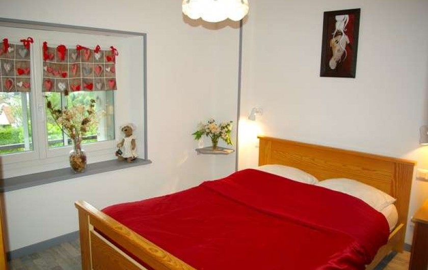 Location de vacances - Appartement à La Bresse - chambre a coucher
